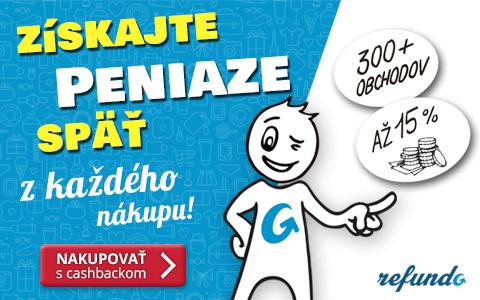 Refundo.sk cashback